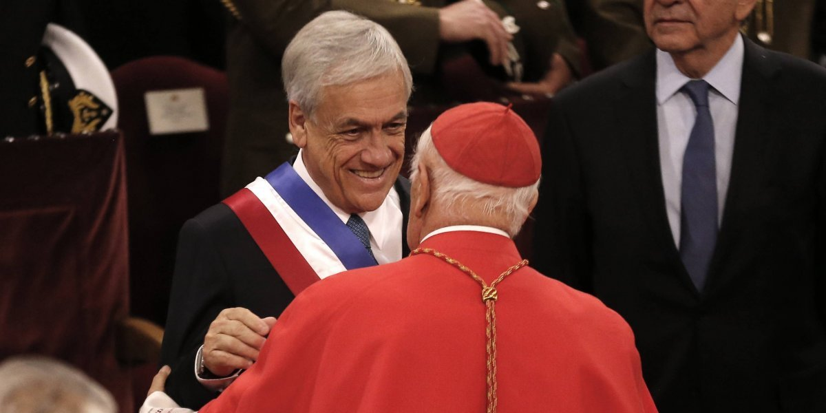 Siguen sumando rechazo: Presidente Piñera apuntó a la jerarquía de la Iglesia Católica