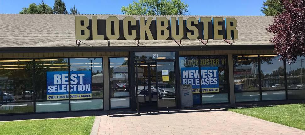 Netflix blockbuster