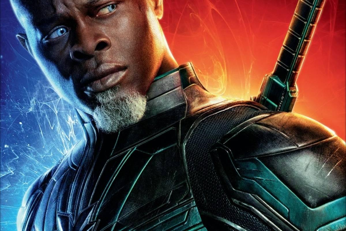 El actor de 54 años de edad Djimon Hounsou da vida a este personaje quien es una agente del imperio kree Cortesía Disney