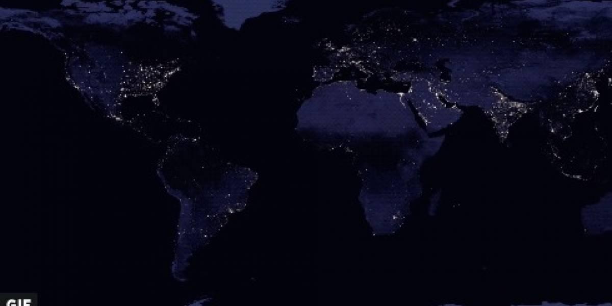 Satélite da NASA capta visão noturna da Terra e o resultado é espetacular