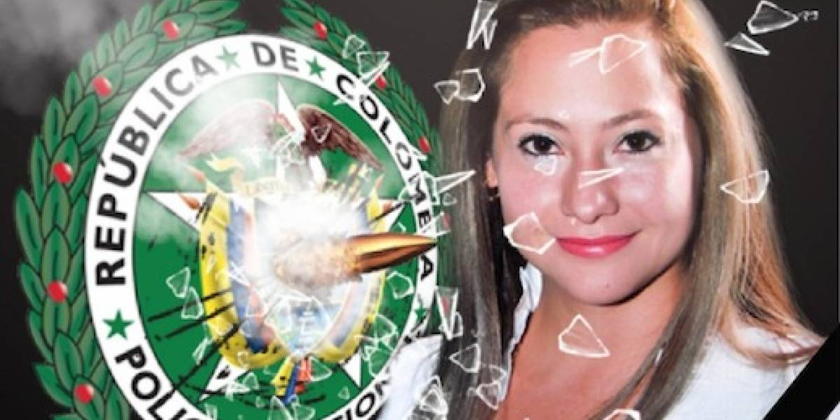 Exigen justicia por mujer asesinada por un Policía en Bogotá