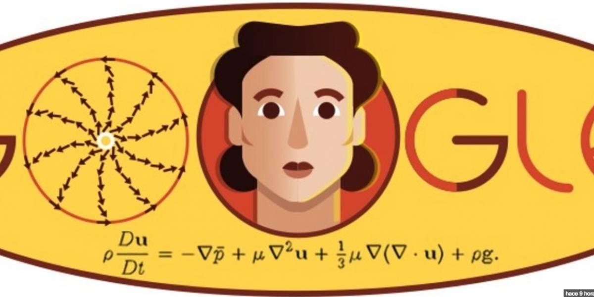 El doodle de Google conmemora a Olga Ladyzhenskaya, matemática rusa