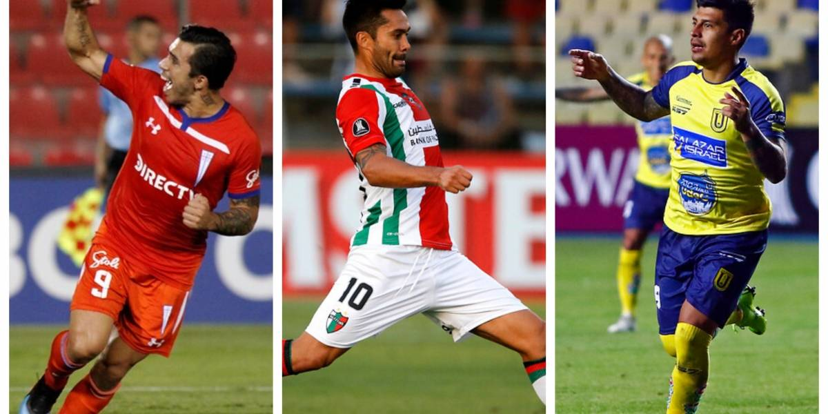 Cuándo y a qué hora juegan la UC, U. de Concepción y Palestino por la segunda fecha de la Libertadores 2019