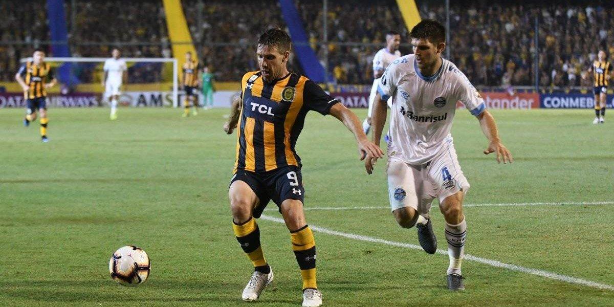 Respira la UC: Rosario Central y Gremio empataron en su grupo de la Copa Libertadores