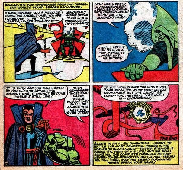 Comic Marvel- Dr. Strange