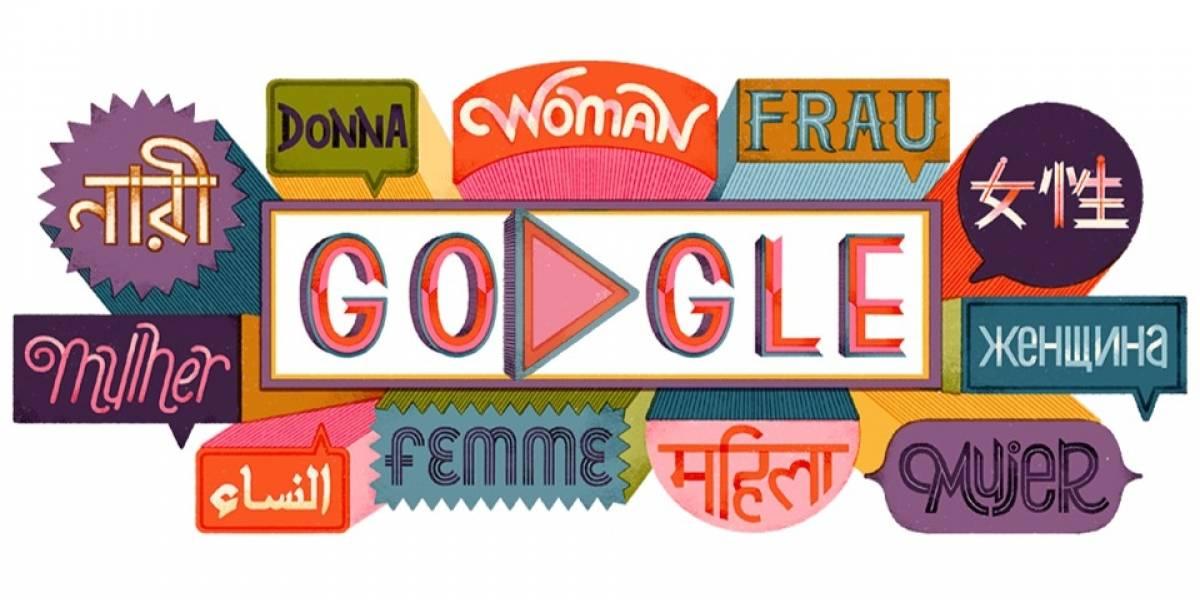 El doodle con que Google conmemora el Día Internacional de la Mujer