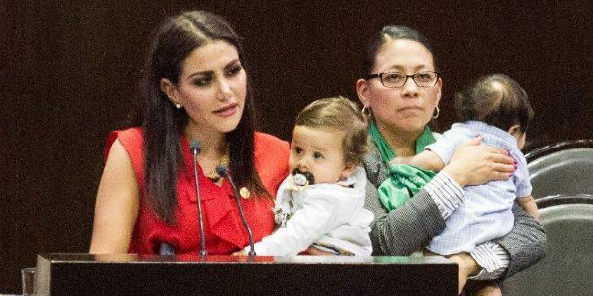 Diputada asegura 'estar hasta la madre' por ser considerada una mala madre
