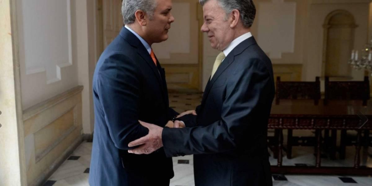 Santos pide a Duque que firme ley de la Justicia de Paz