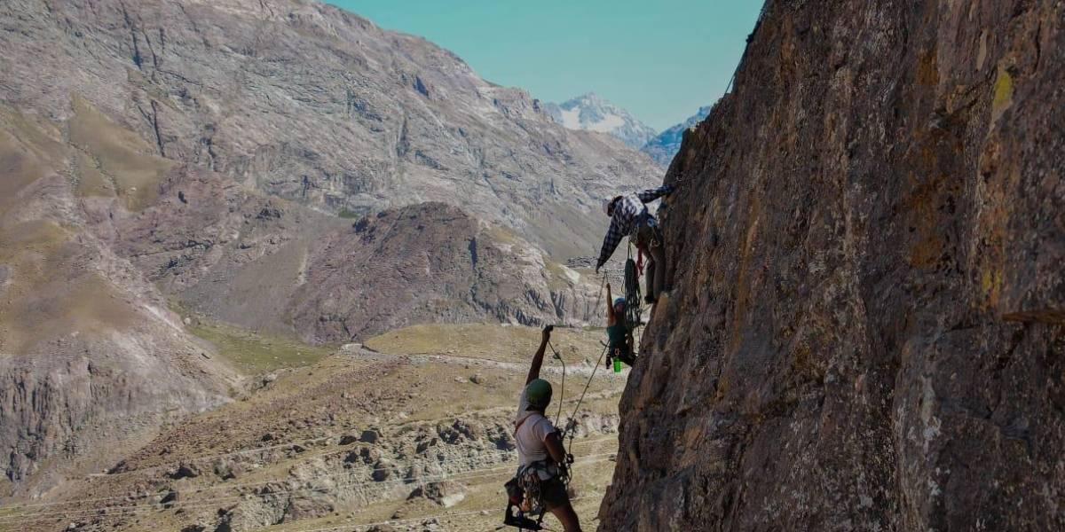 Campeonato de escalada Abriendo Rutas se tomará el fin de semana en el Cajón del Maipo