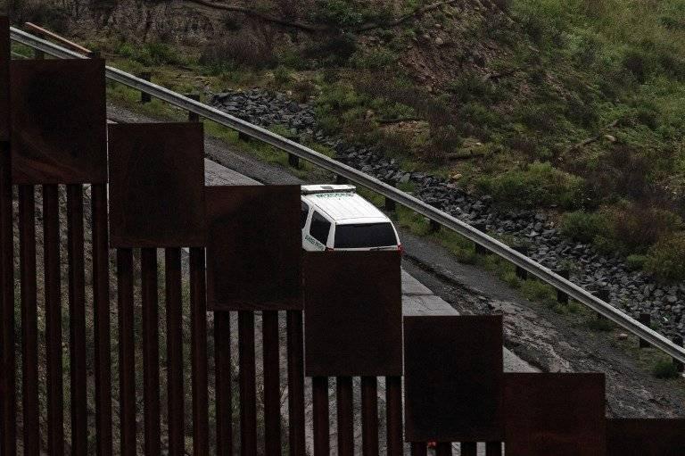 Patrulla fronteriza en Estados Unidos. AFPFoto: