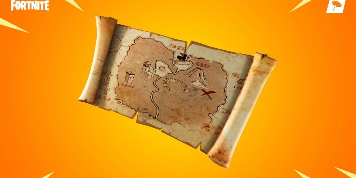 Fortnite: notas do patch 8.01 traz mapa de tesouro enterrado e muito mais