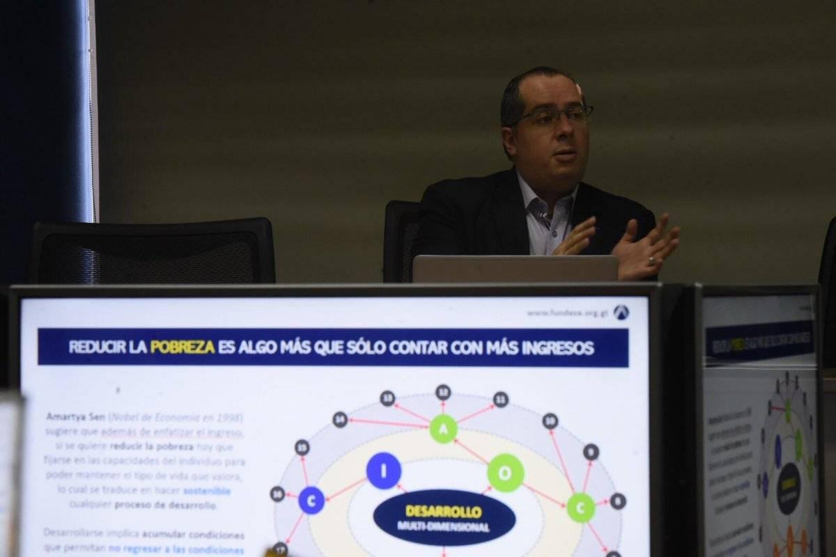 Jorge Benavides, investigador de Fundesa