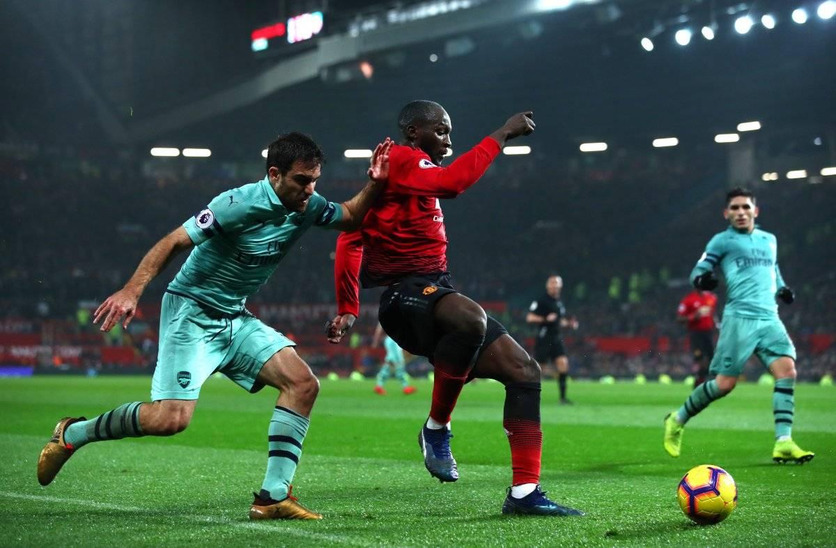 El clásico entre Arsenal y Manchester United encenderá este fin de semana /Imagen: Getty Images