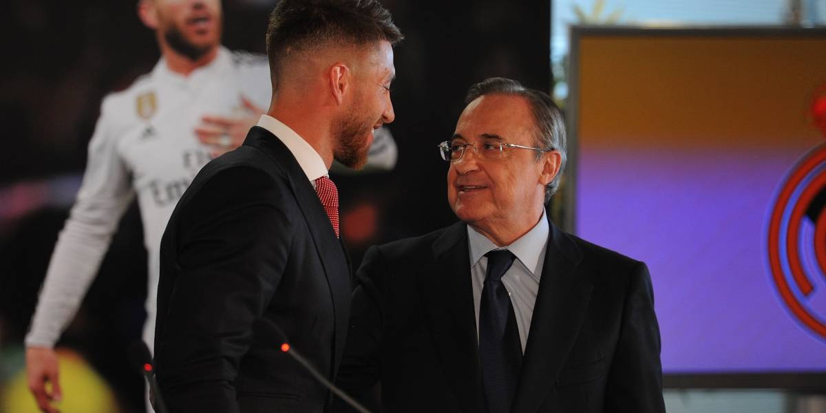 Revelan bronca entre Sergio Ramos y Florentino Pérez