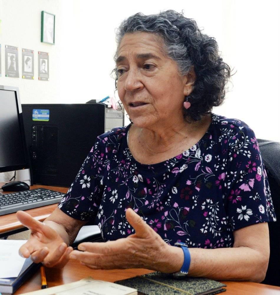 María Luisa González Marín Foto: Cortesía UNAM