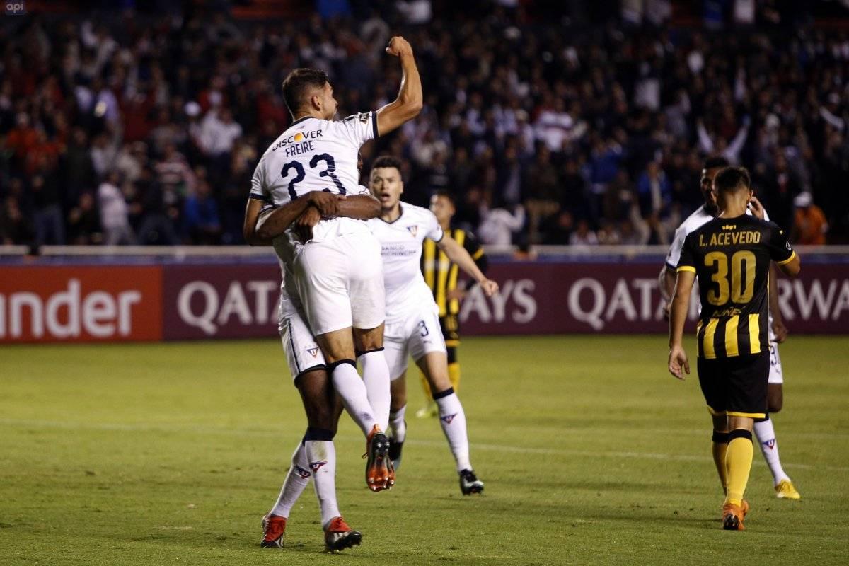 Liga de Quito vs Peñarol API