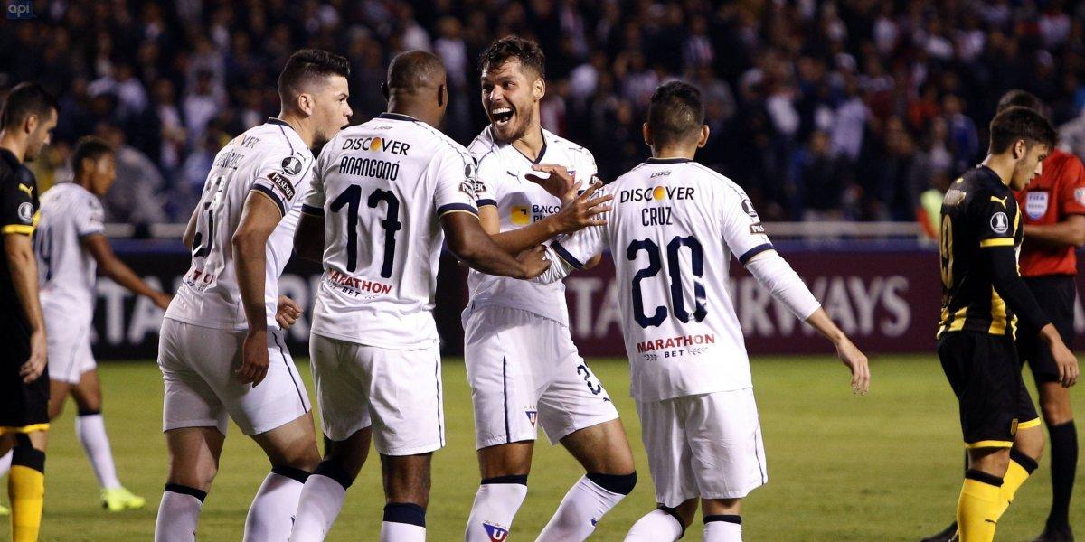 Liga de Quito vs Peñarol: Los 'Albos' se inauguran con victoria en Copa Libertadores
