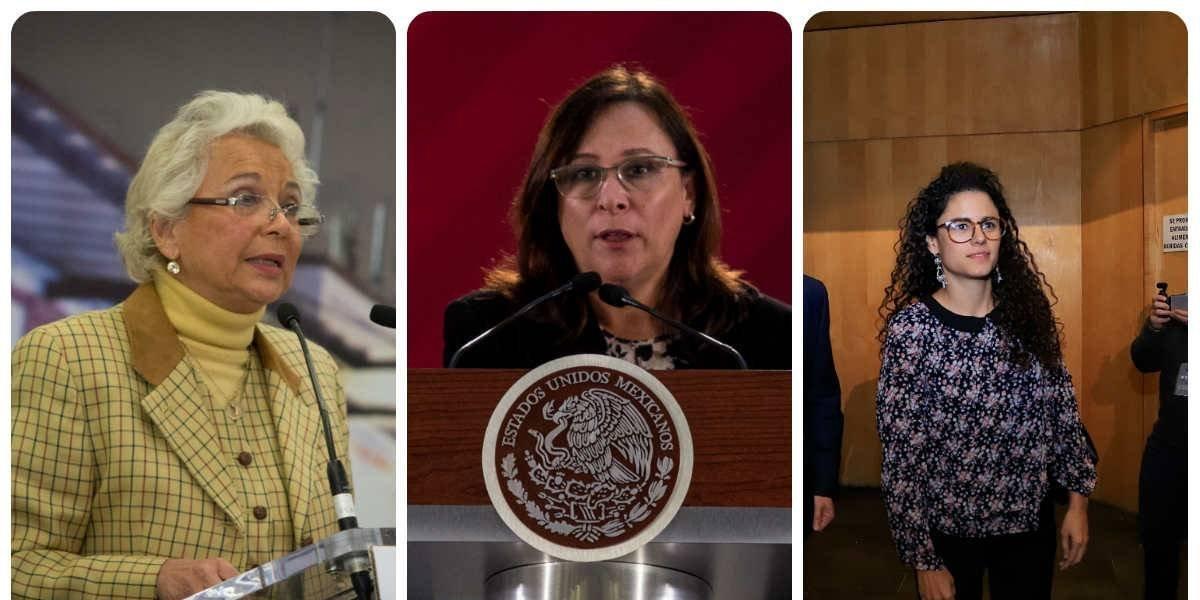 Ellas representan a las mujeres en el gabinete de AMLO