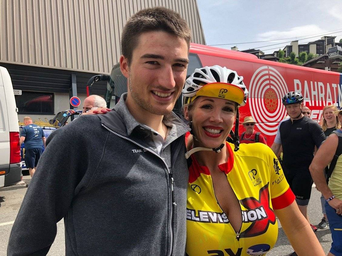 Rebeca Moore es una de sus principales ciclistas @pornpedallers