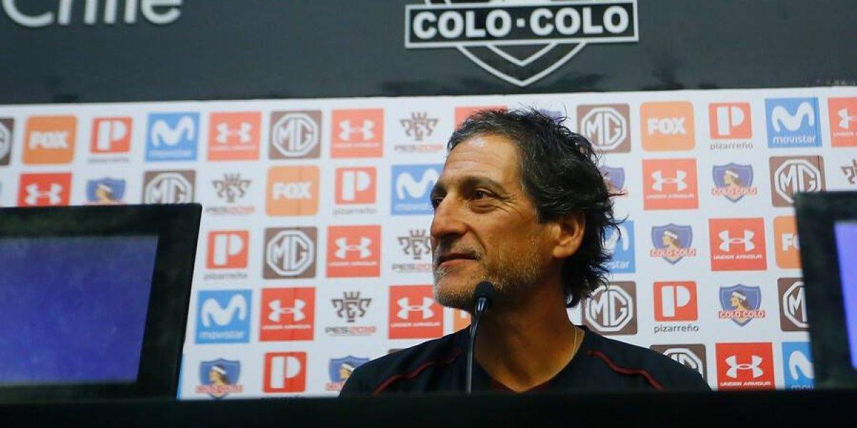 """Salas frena la euforia por el arranque de Colo Colo: """"Somos un equipo en construcción, hay mucho que mejorar"""""""