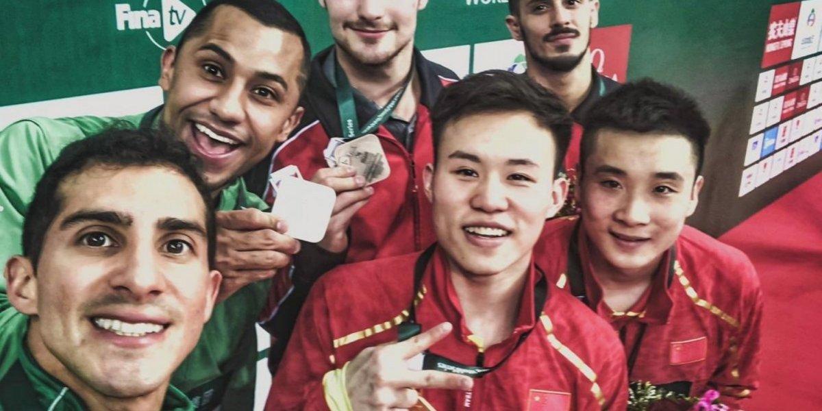 Pacheco y Ocampo se bañan de plata en Serie Mundial de Clavados