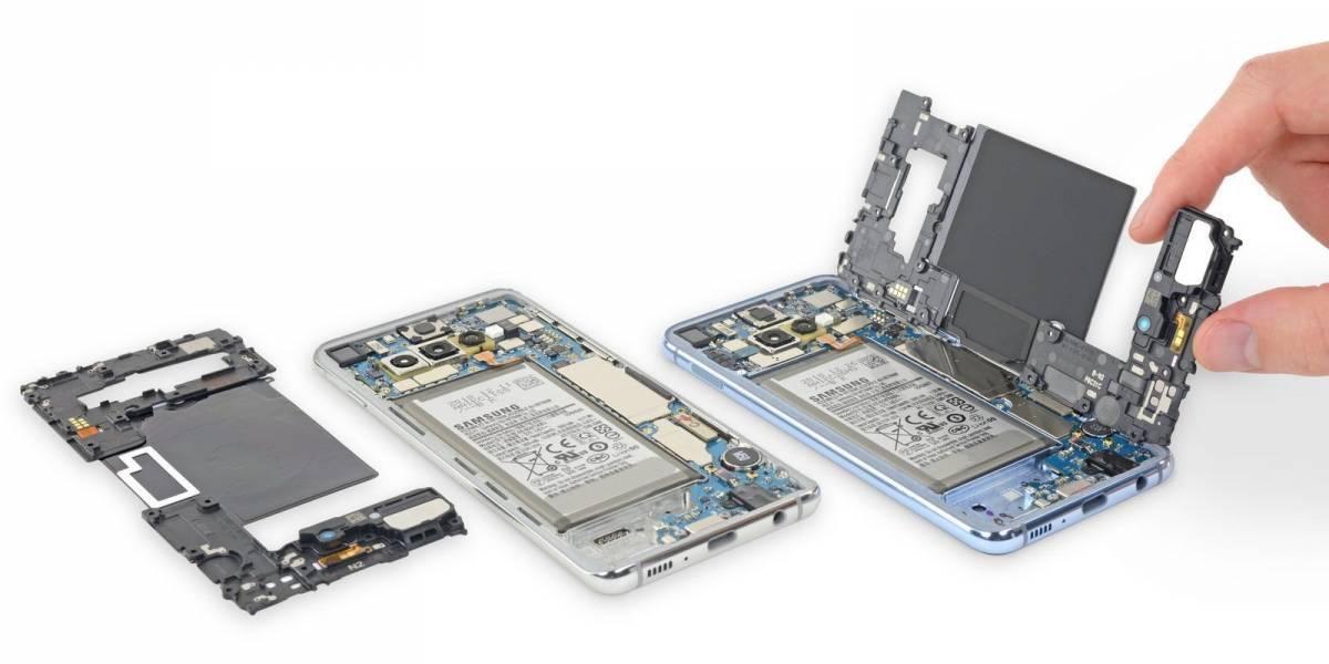 Desarmaron el Samsung Galaxy S10 y se dieron cuenta que es casi imposible repararlo
