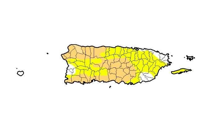 Sequía Puerto Rico