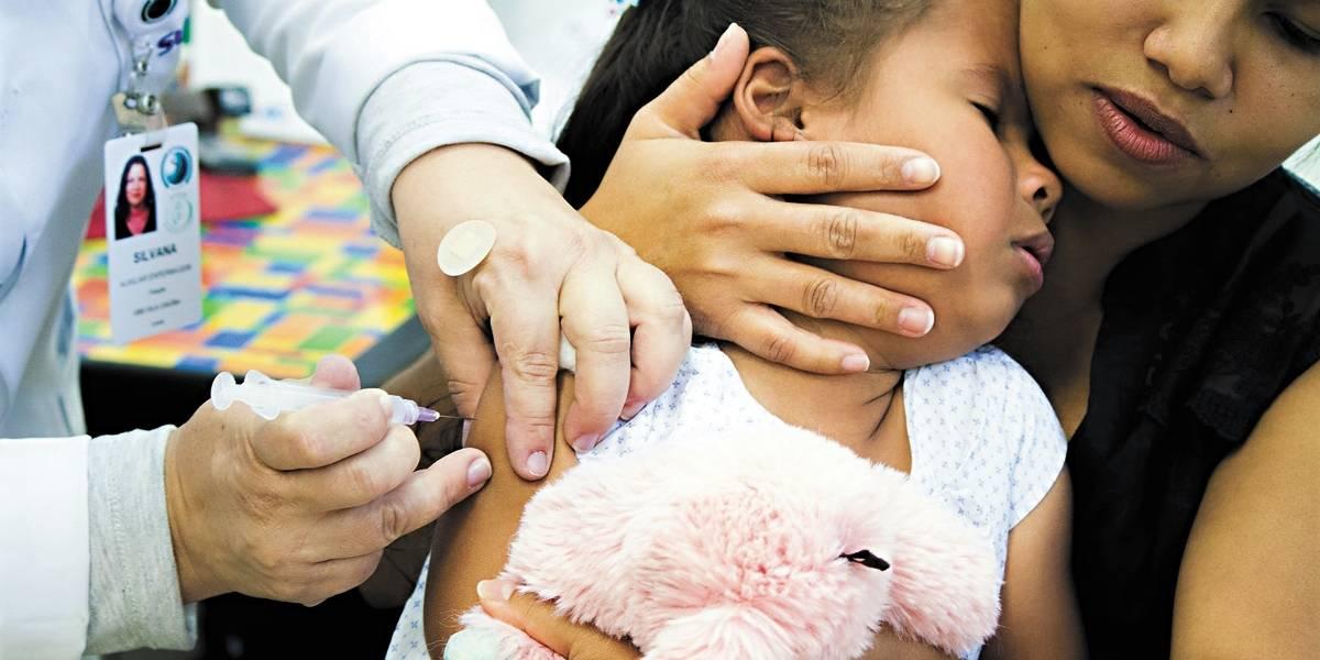 Campanha de vacinação contra sarampo continua para as crianças