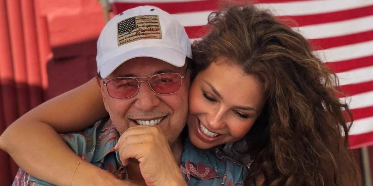 Thalía y Tommy Mottola se envían mensajes candentes