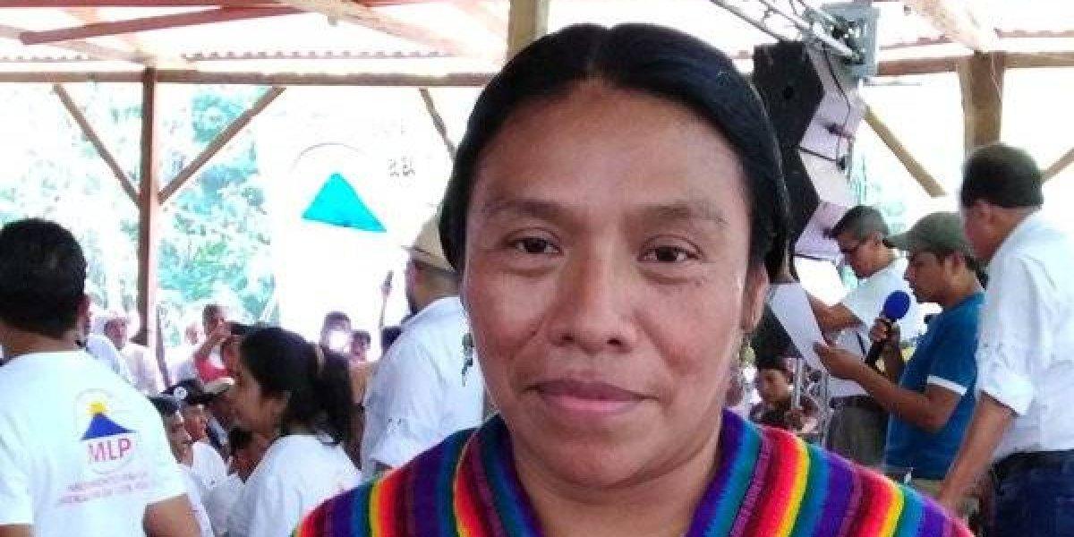 Partido MLP designa a Thelma Cabrera como su precandidata presidencial