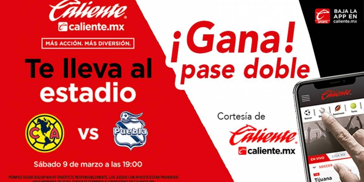 Gana pase doble para el partido América vs Puebla