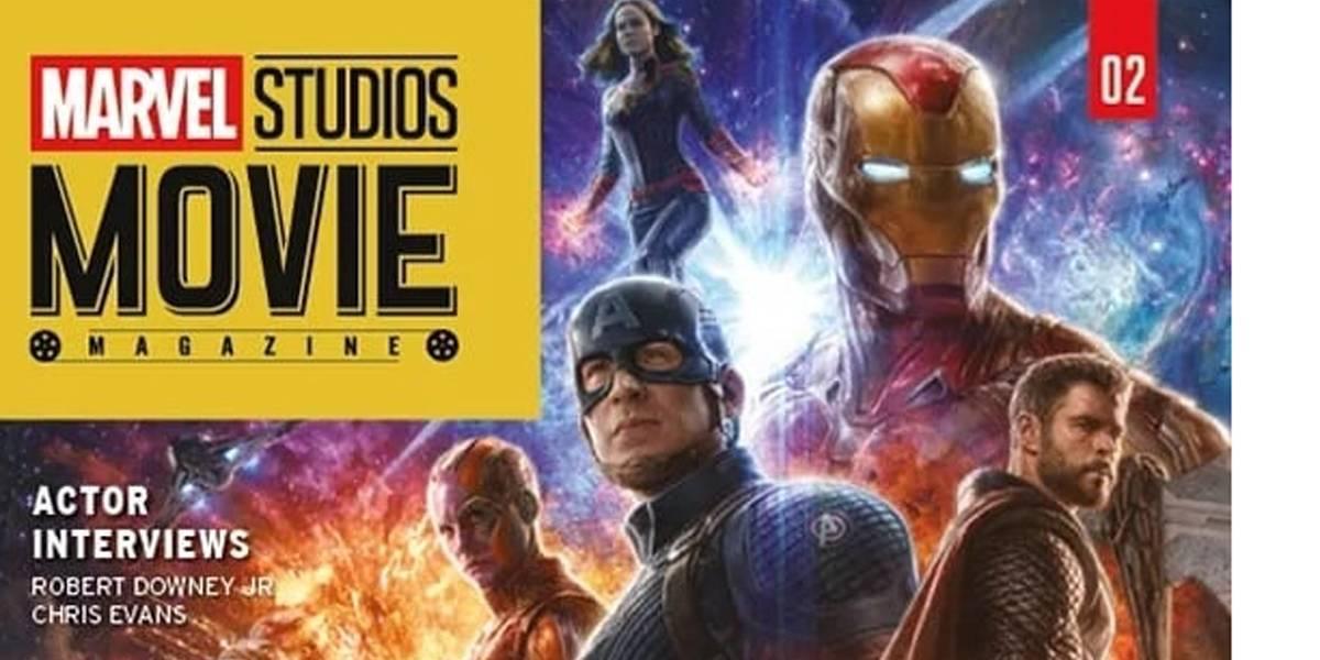 Visual de personagens em 'Vingadores: Ultimato' é revelado em capa de revista