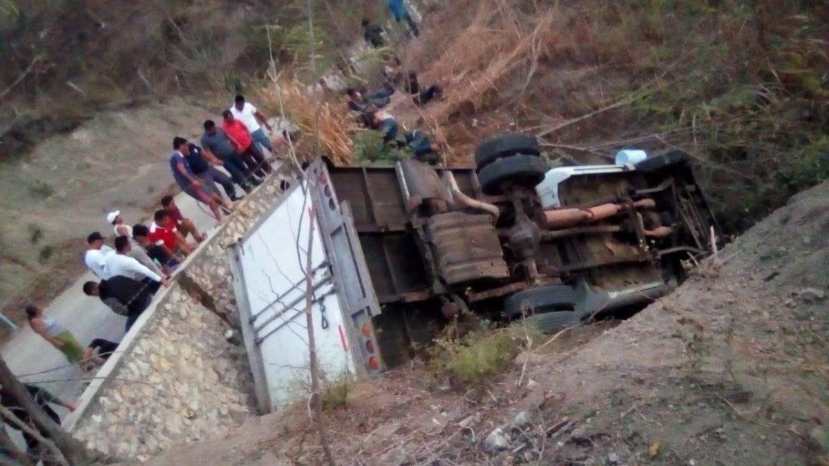 Migrantes murieron en accidente México