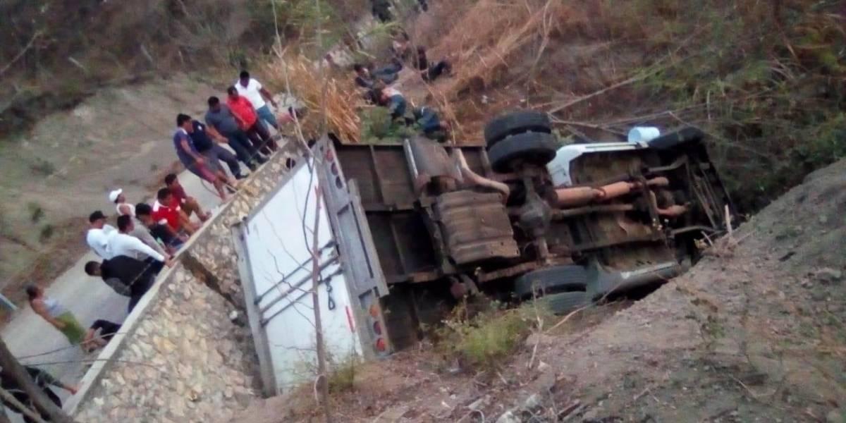 25 migrantes centroamericanos mueren en un accidente en México