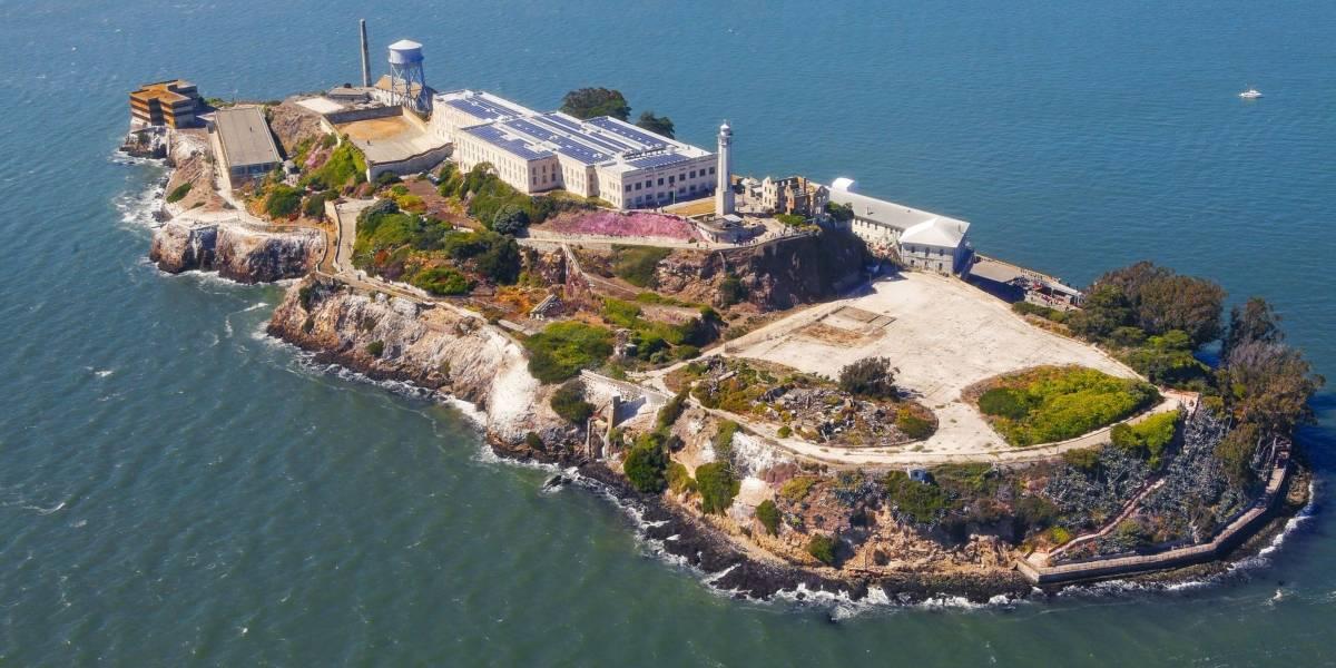 Descubren misteriosas estructuras militares debajo de la Prisión de Alcatraz