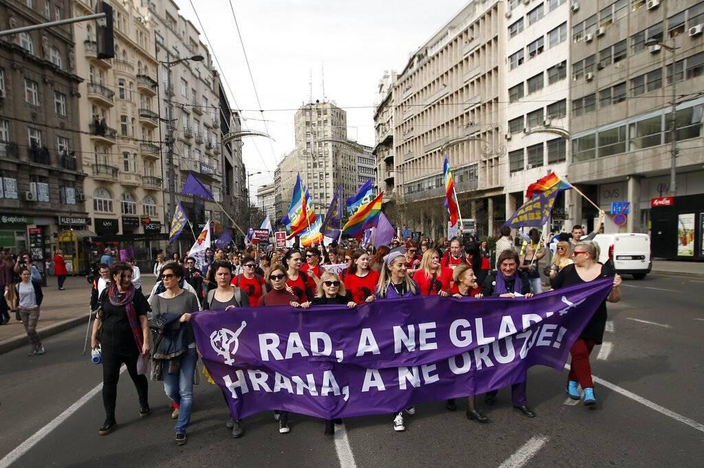 Mujeres Serbia