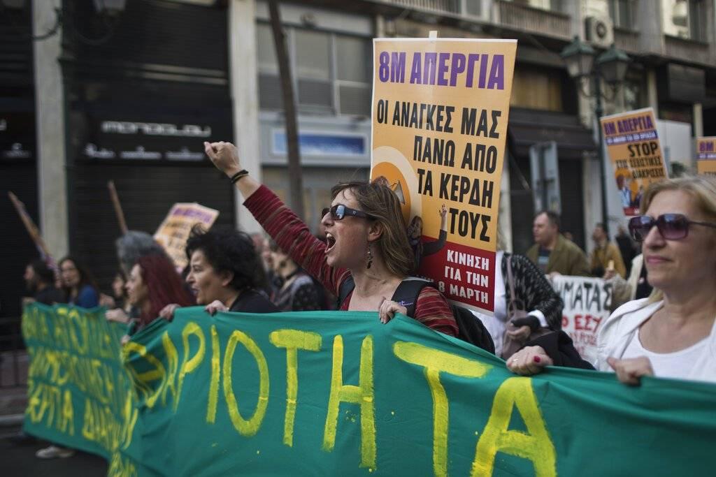 Mujeres Grecia