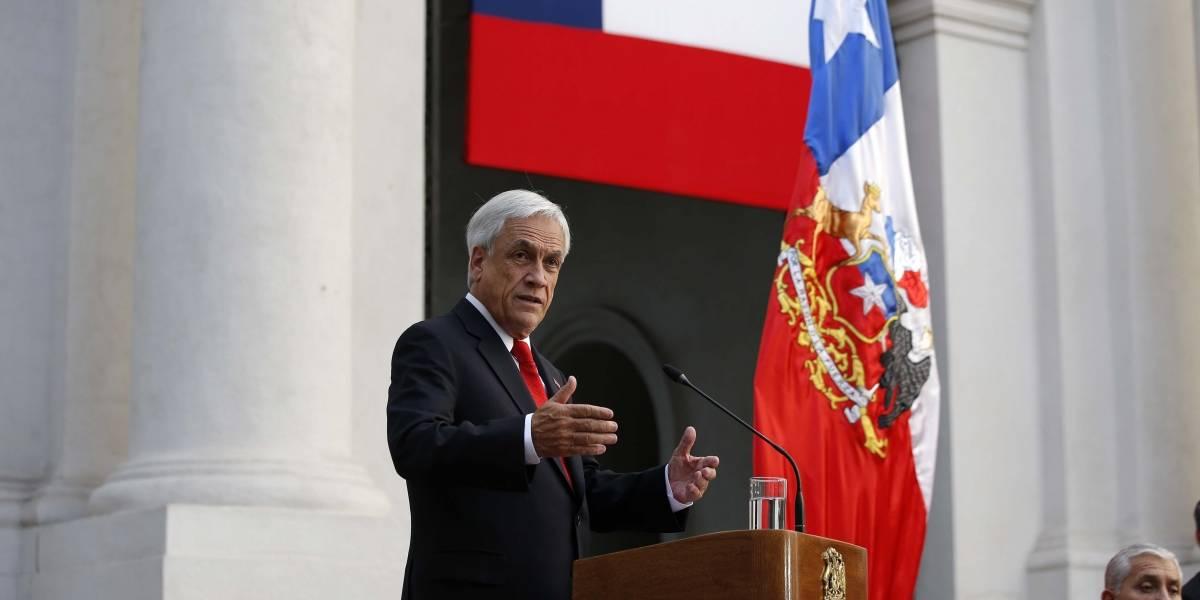 """Presidente Piñera anuncia proyecto de ley por caso Nido: """"Castigaremos a quienes humillan mujeres por internet"""""""