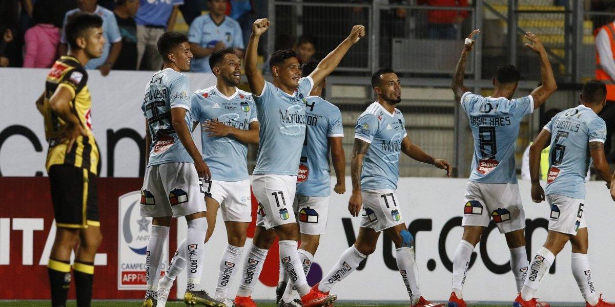 """O'Higgins venció a Coquimbo con un golazo de mitad de cancha de """"Ribery"""" Muñoz"""