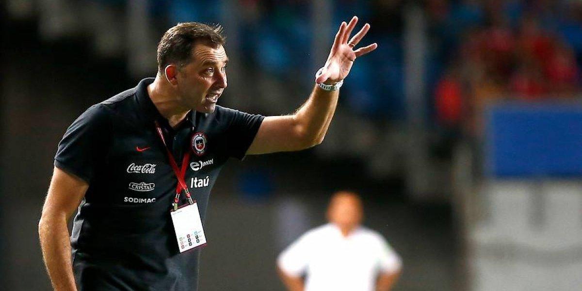 Hernán Caputto renunció a la selección chilena Sub 17 a cuatro meses del Mundial