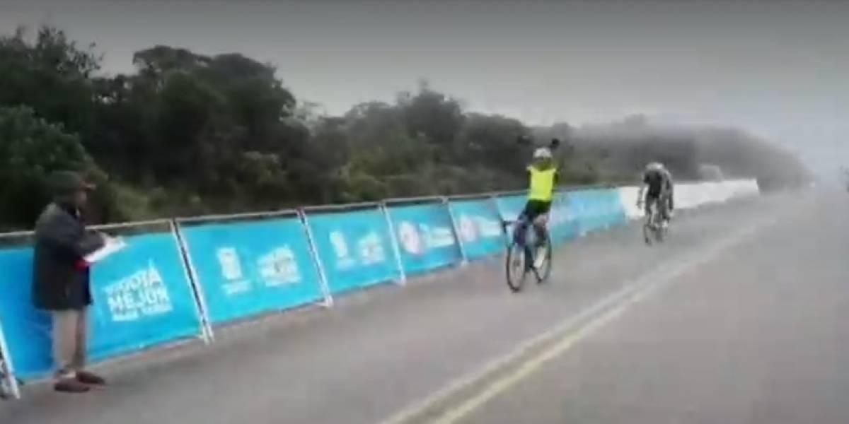Delincuentes roban bicicleta a joven promesa del ciclismo colombiano
