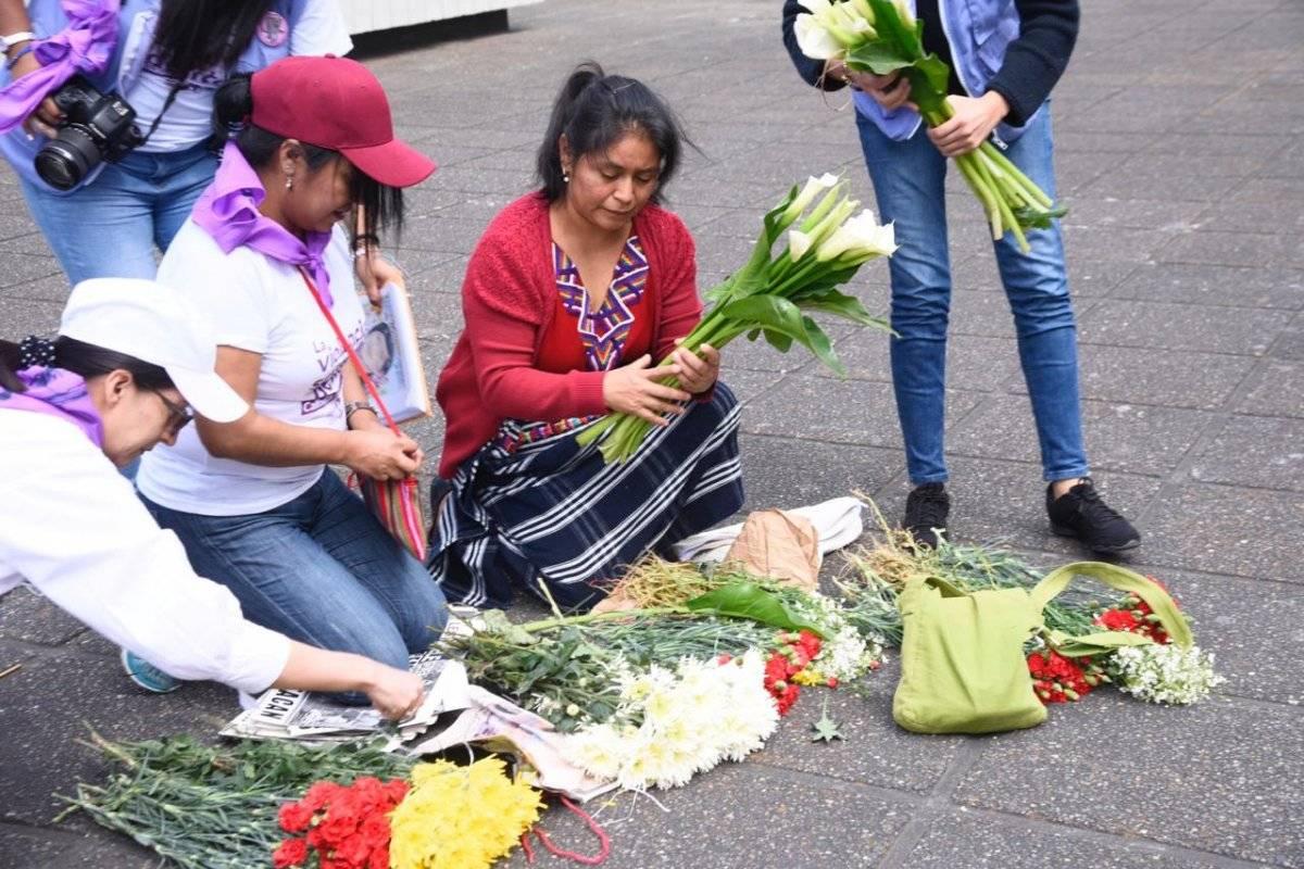 Conmemoran el Día Internacional de la Mujer. Foto: Herlindo Zet