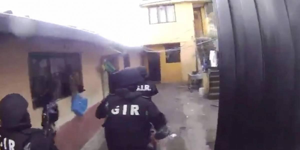 Policía rescató a joven que fue secuestrado en el sur de Quito