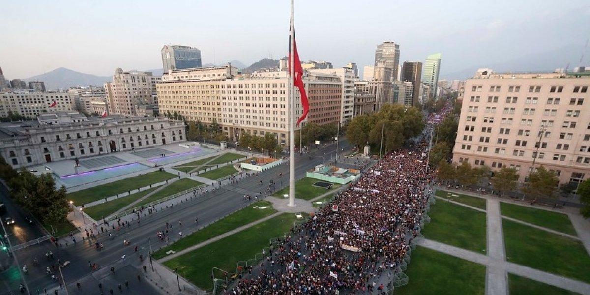 #8M Marcha de Mujeres movilizó a 190 mil manifestantes y hubo 6 detenidos según confirmó Intendencia