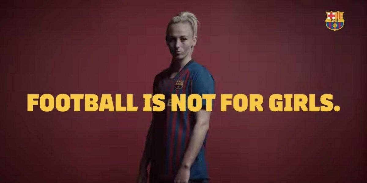 El video del Barcelona que busca fomentar la equidad de género en el futbol