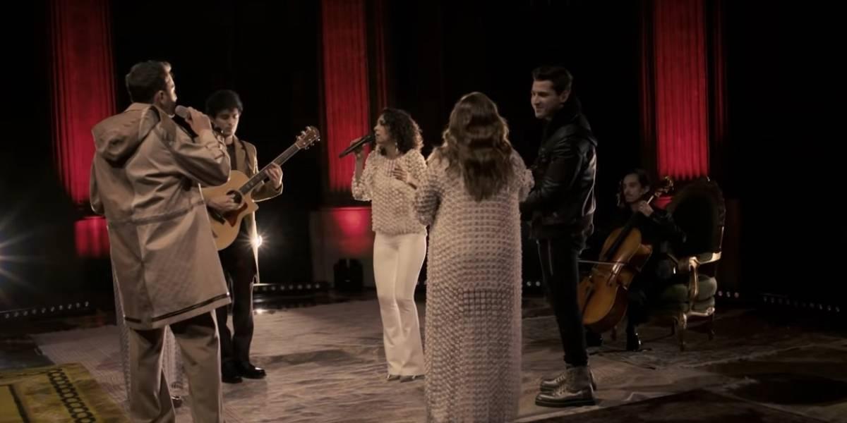 """VIDEO. Reik cree en """"Más Pandora que nunca"""" y graban juntos"""