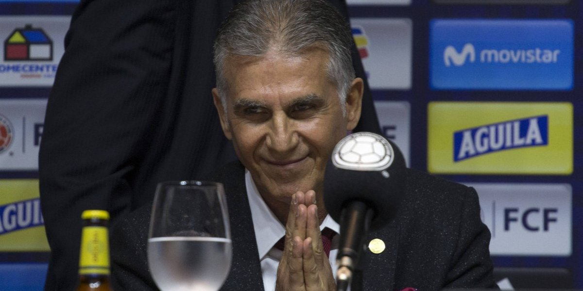 Las mejores frases de Carlos Queiroz en conferencia de prensa