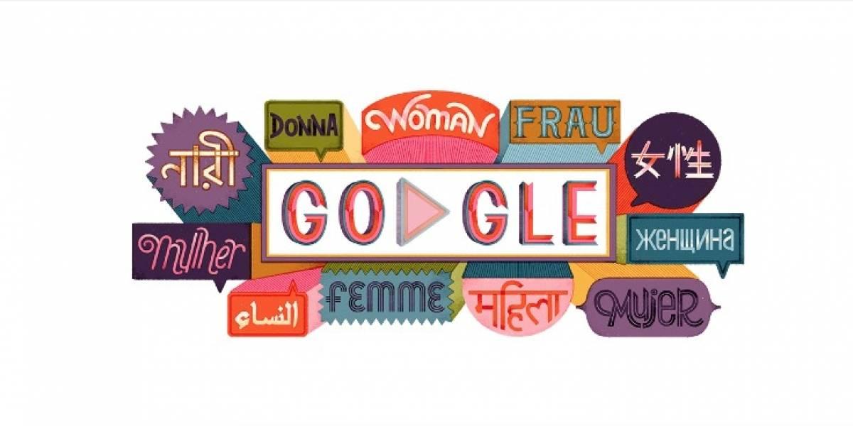 Google conmemora el Día Internacional de la Mujer con frases feministas