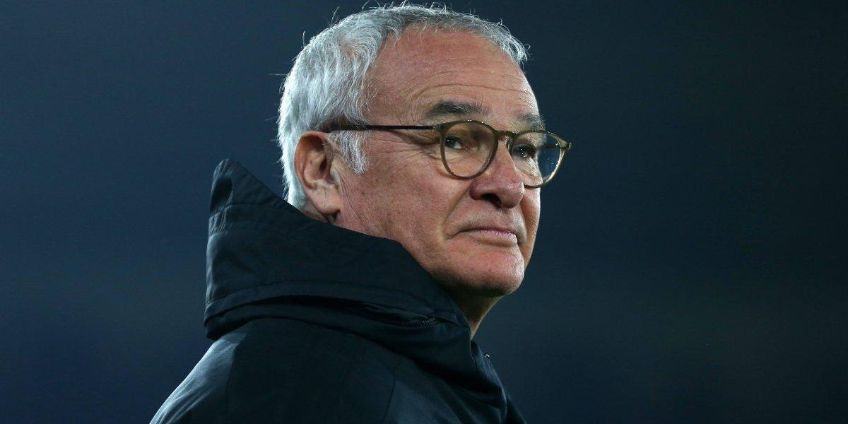 """Claudio Ranieri llegó como el """"salvador"""" a una Roma golpeada por la eliminación de la Champions"""