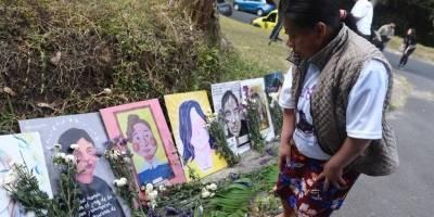Homenaje víctimas del incendio en Hogar Seguro